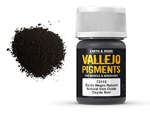 Vallejo Pigments 73115 Natural Iron Oxide (35ml) -