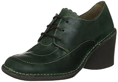 Fly London Women's Etta Green Rug Casual Lace Ups P801203000 5 UK