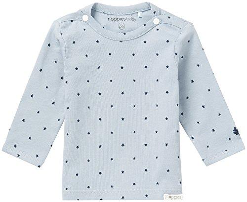 Noppies Baby-Jungen B Tee ls Novara-67378 Langarmshirt, Grau (Grey Blue C134), 62
