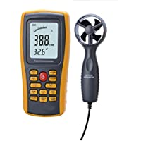 Air Flow Anemometer, YH-THINKING Portable 8 in 1 Wind Speed Meter Mehrzweck Digital Anemometer geeignet zur Messung der Temperatur Feuchte