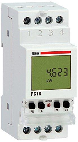 Vemer VE475000 Centralina Controllo Carichi Pc1R con Relè, Bianco