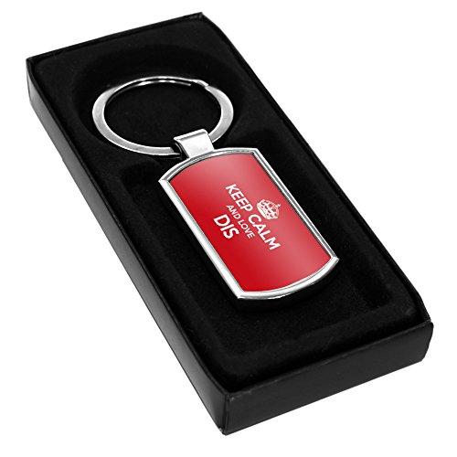 RED Keep Calm and Love Dis in metallo 0638-Stivaletti alla caviglia