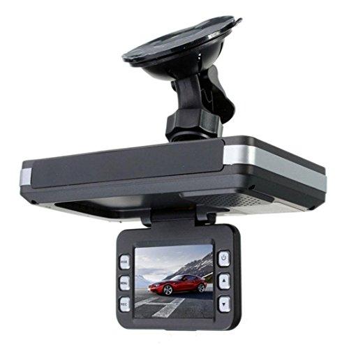 Omiky® 2 in 1 MFP 5MP Auto DVR Recorder + Radar Geschwindigkeitsmesser Trafic Alert Englisch