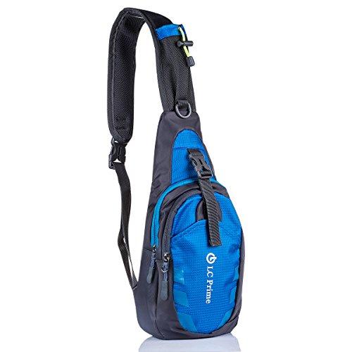ack Chest Bag, Umhängetasche Daypack Brusttaschen Schultertasche für Damen und Herren ()