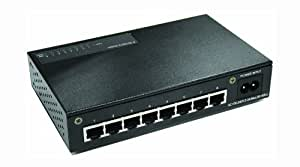 Transition Networks MIL-S800I-V2 Noir - Commutateurs réseaux (Full duplex)