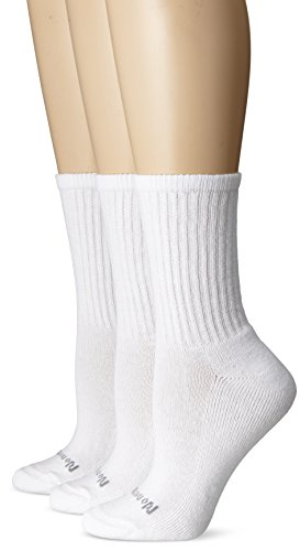 No Nonsense Women's Ahh Said The Foot Cushioned Crew Sock 3-Pack