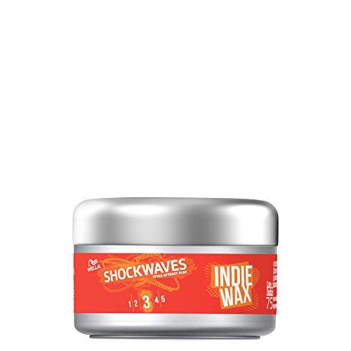 Wella Shockwaves Shaping Wax 75 ml (Pack of 3)