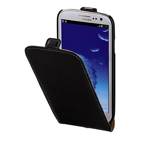 Hama Flip Case für Samsung Galaxy S3 Tasche, Maßgefertigte Schutzhülle mit Magnetverschluss