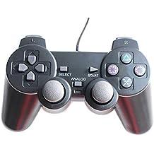 HaoYiShang Dual Wired Game Controller kompatibel für Sony PS2 Konsole Videospiel