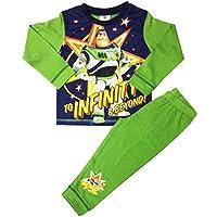 Disney Boys Toy Story Buzz Lightyear Long Pyjamas Size 18 Months to 5 Years