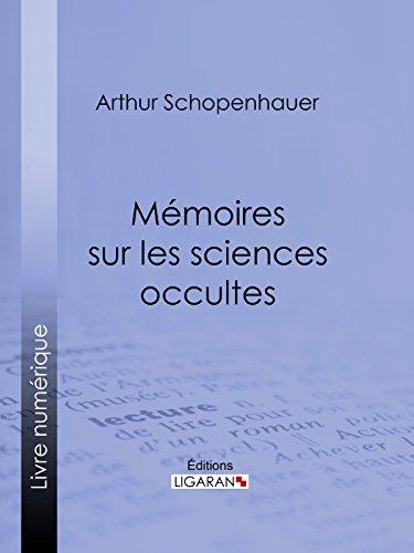 Livres gratuits en ligne Mémoires sur les sciences occultes pdf, epub
