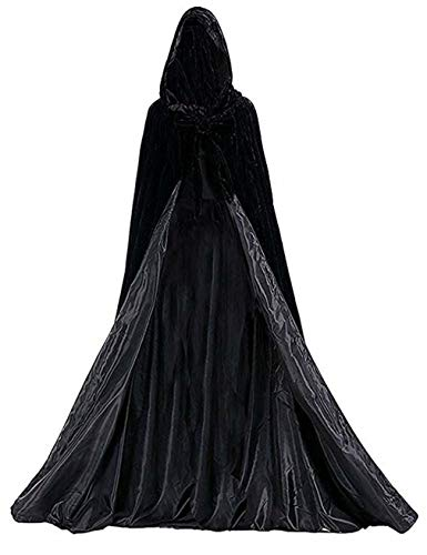 Vampir Kap Velvet Cape Erwachsene Halloween Kostüme Renaissance Cape Halloween ()