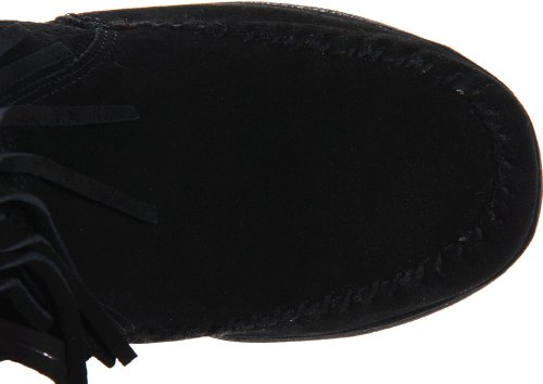 Minnetonka 84030, Stivaletti donna Nero (Schwarz (Black))