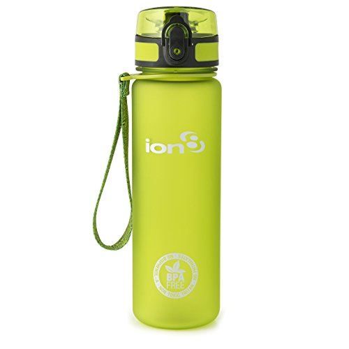 ion8 Unisex Leak Proof Bpa Free Cycling Water Bottle   Botella de agua