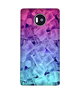 Ice Gradient Printed Back Cover Case For Microsoft Lumia 950 XL