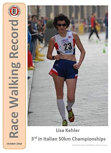Race Walking Record 877 - October 2018 (English Edition) por Noel Carmody