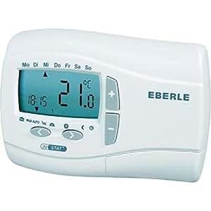 Thermostat horloge num?rique sans fil INSTAT+868 Eberle