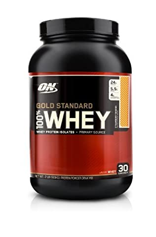 Optimum Nutrition 100% Whey Protein - Gold Standard Strawberry Banana 2 lbs