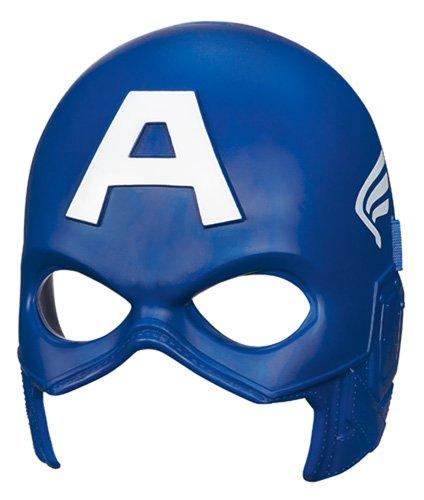 Marvel-A1829A1828-Avengers--Maske, die leuchtet im Dunkeln-Captain America (Captain America Maske)