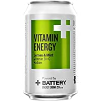Battery Vitamin Energy Drink Cans, 330 ml, Lemon and... preiswert