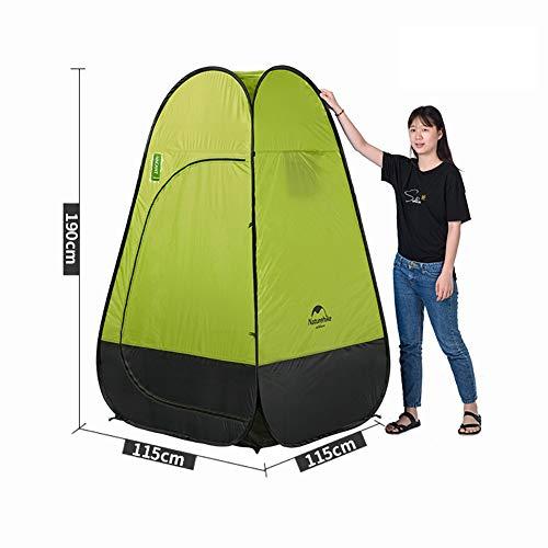 FDSEP Portable Pop-up-Zelt, Ankleideraum Privatsphäre Shelter, für Outdoor-Camping Angeln Stranddusche WC,grassgreen