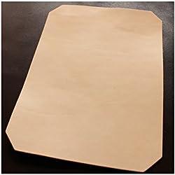 24x 33cm Gran Corte de piel, Blank piel, Dick piel, punzier fuertes piel vegetal,/vegetabil gegerbte piel de vacuno, piel de vacuno Completo con aprox. 3,2–3,5mm de grosor y unverfälschtem imagen, rugosa