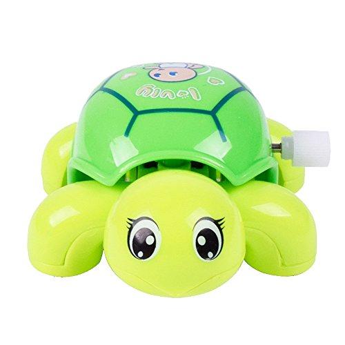 sunshineBoby Aufziehspielzeug Uhrwerk Spielzeug Set Uhrwerk lustige Bad Spielzeug Cartoon Schildkröte Uhrwerk Auto Lernspielzeug Uhrwerk Spielzeug Schildkröte Lernspielzeug (9 X 6.5 X 4cm, zufällig)