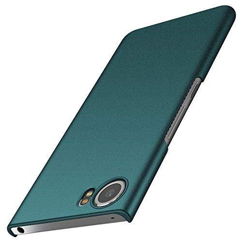anccer BlackBerry Keyone Hülle, [Serie Matte] Elastische Schockabsorption und Ultra Thin Design für Keyone (Kies Grün)