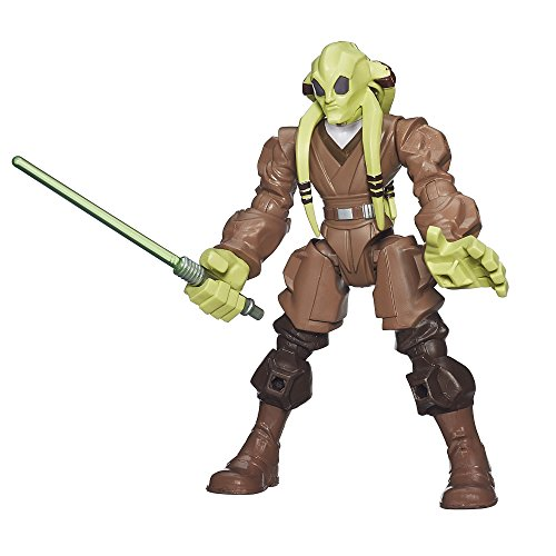 Hasbro Star Wars B3658ES0 - Hero Mashers Basisfigur: Kit Fisto, Actionfigur