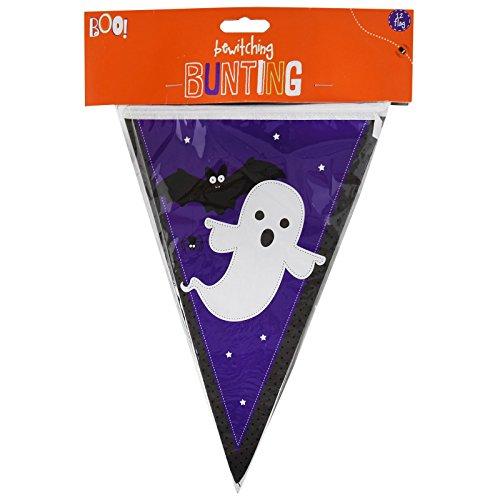 8m Haunted Halloween Wimpelkette Kunststoff 20Flagge Wasserdicht Banner Dekoration Vampir Hexe Mummy wiederverwendbar Indoor Outdoor Garden House Party Ghost