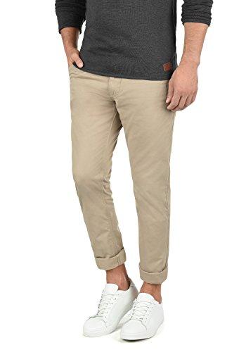 Blend Tromp Herren Chino Hose Stoffhose Aus 100% Baumwolle Regular Fit, Größe:W34/32, Farbe:Beige Brown (71509)