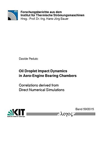 Oil Droplet Impact Dynamics in Aero-engine Bearing Chambers: Correlations Derived