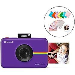 Polaroid Snap Touch 2.0 - Appareil Photo Numérique de 13 Mp, Bluetooth, Écran Tactile LCD, Vidéo 1080P et Nouvelle Application, 5 x 7,6 cm, Violet