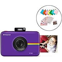 Polaroid Snap Touch 2.0 – Fotocamera digitale istantanea portatile da 13 MP, con Bluetooth integrato, display LCD touchscreen, video 1080p, tecnologia Zink Zero Ink e una nuova app, viola