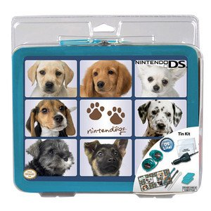 Nintendo DS Tin Kit Nintendogs - Starter Set im Metall Koffer