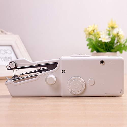 ZAOPQZ Handnähmaschine Tragbare Mini-Handnähmaschine Elektro-Stich Haushalt Repair Tool Kit für schnelle Reparaturen (Nähmaschinen-reparatur-kit)