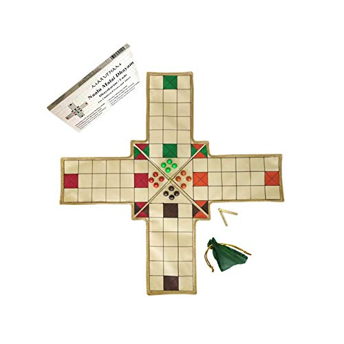 Marutham Dhayam Game - Naalu Malai Thayam - Pachisi / Ludo / Indian Ludo / chausar / Four Mountain Thayam Board Game