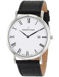 Pierre Petit Unisex-Armbanduhr Nizza Analog Leder P-787C