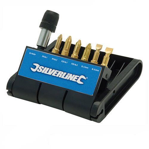 silverline-749243-diamond-screwdriver-bit-bank-7-pieces