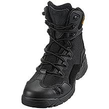 Suetar Zapatos de Senderismo de Cuero al Aire Libre Militares ntideslizantes y Transpirables Botas de montañismo