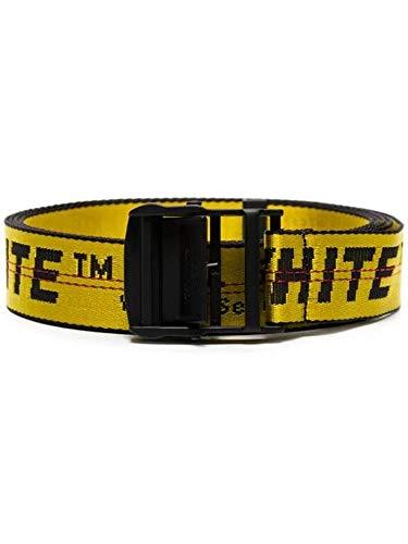 OFF-WHITE Cintura Uomo Omrb012s196470216000 Poliestere Giallo