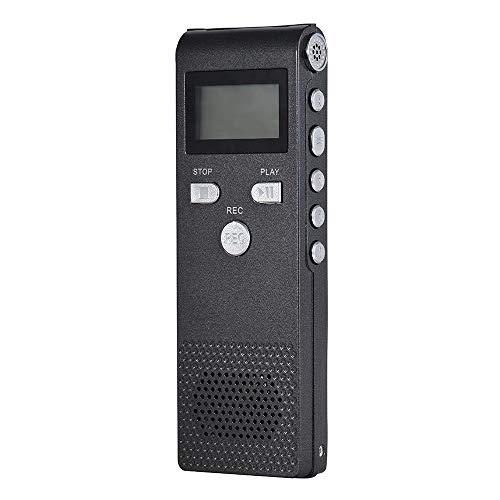 MP3 MP4 Digital Voice Recorder Professioneller Audio-Diktiergerät-MP3-Player Mit 8 GB Für Geschäftliche Besprechungskonzertvorträge Speichern Sie Ihre Songliste - Zyklus-sound-lautsprecher