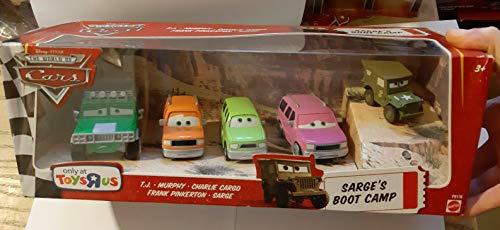 Disney Pixar - P9167 - Cars - Sergent's Boot Camp - avec T.J., Murphy, Charlie Cargo, Frank Pinkerton et Sergent