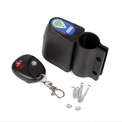 CHEZAI Bike Remote Alarm/Bike Mountain Bike Serene Anti-Theft Alarm/Riding Equipment/sans Batterie