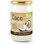 NATURACEREAL Aceite de Coco puro, virgen y orgánico PREMIUM 1000ml -