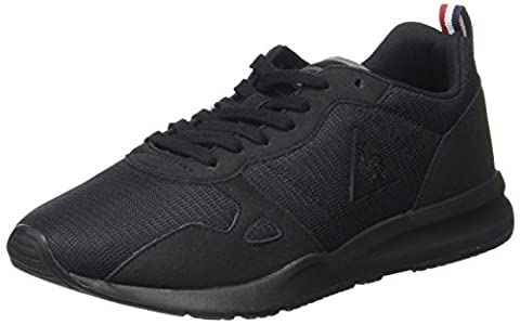 Le Coq Sportif Lcs R600 Mesh, Baskets Basses Mixte Adulte, Noir (Black), 39 EU