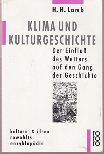 Klima und Kulturgeschichte