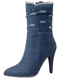Amazon Zapatos Botas Para 48 Y es Complementos Mujer H4TRxf