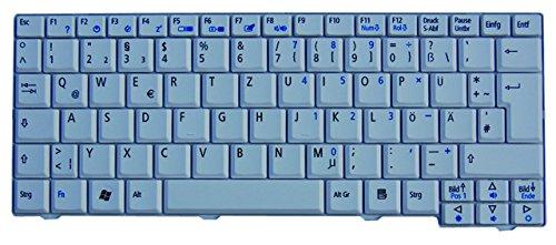 NExpert deutsche QWERTZ Tastatur für Acer Aspire One A110 A110X A110L A150 A150X ZG5 DE Weiß (Acer Aspire One A150)