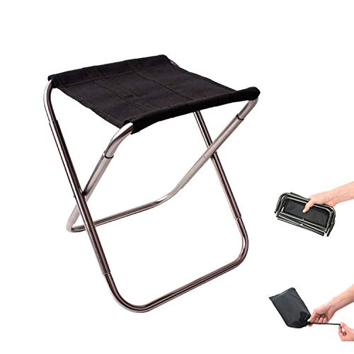 Small Lake Ultra Light beweglicher im Freien Faltbare Fischen-Stuhl Folding Rucksack Camping Oxford Cloth Picknick Angeln Stuhl mit Tasche, Splitter -